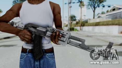 GTA 5 Assault Rifle - Misterix 4 Weapons for GTA San Andreas third screenshot