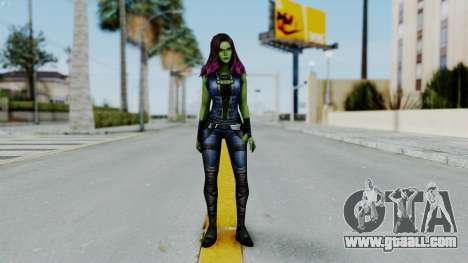 Marvel Future Fight - Gamora for GTA San Andreas second screenshot