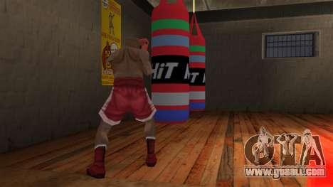 New Punching Bag for GTA San Andreas