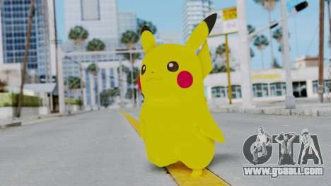 Dancing Pokemon Band - Pikachu for GTA San Andreas