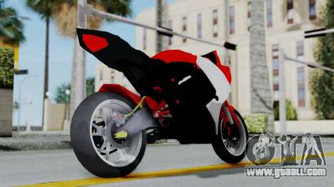 Yamaha YZF-R25 YoungMachine Concept for GTA San Andreas right view