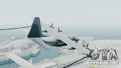 KC-130 Air Tanker for GTA San Andreas left view