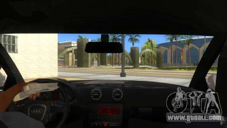 Audi S3 for GTA San Andreas inner view