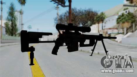 M2000 CheyTac Intervention for GTA San Andreas third screenshot