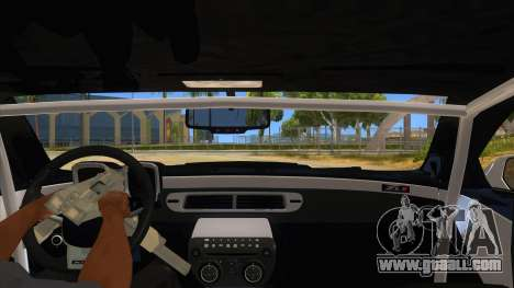 2012 Chevrolet Camaro ZL1 Liberty Walk for GTA San Andreas inner view