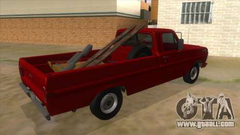 Ford F-100 1970 for GTA San Andreas right view