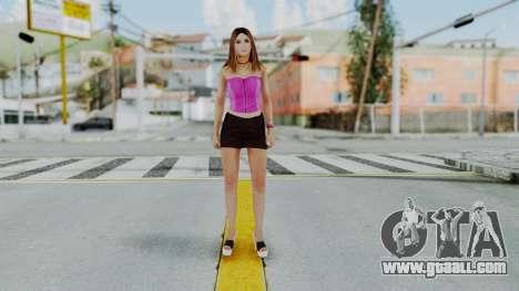 GTA 5 Hooker 01 v2 for GTA San Andreas second screenshot