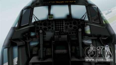 KC-130 Air Tanker for GTA San Andreas back view