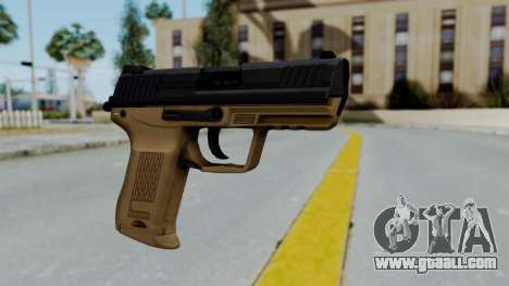 HK45 Sand Frame for GTA San Andreas