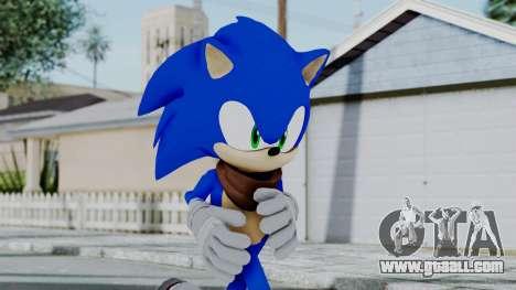 Sonic Boom for GTA San Andreas