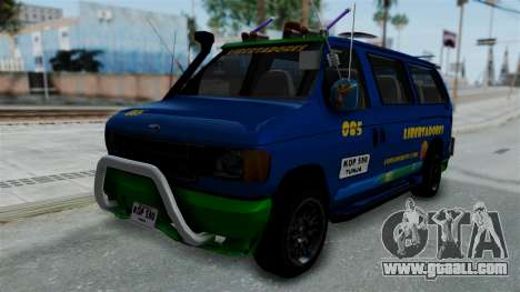 Ford E-150 Stylo Colombia for GTA San Andreas