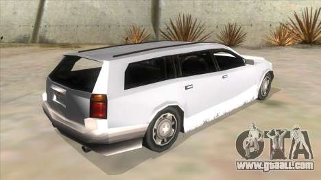 GTA LCS Sindacco Argento for GTA San Andreas back view