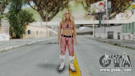 WWE Natalya for GTA San Andreas second screenshot