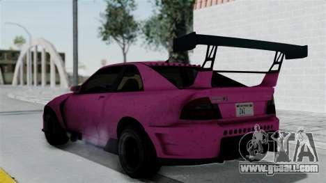 GTA 5 Karin Sultan RS Drift Double Spoiler for GTA San Andreas left view
