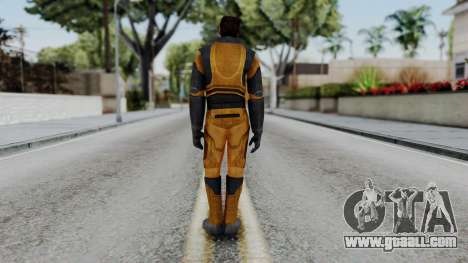 Gordon Freeman Skin for GTA San Andreas third screenshot
