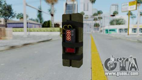 GTA 5 Stickybomb for GTA San Andreas