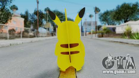Dancing Pokemon Band - Pikachu for GTA San Andreas third screenshot