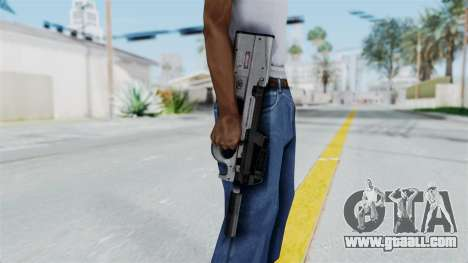 P90 Grey for GTA San Andreas third screenshot