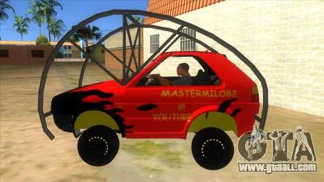 Volkswagen Golf MK2 RollGolf for GTA San Andreas left view