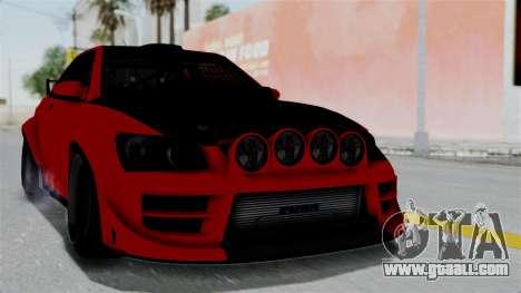 GTA 5 Karin Sultan RS Rally for GTA San Andreas