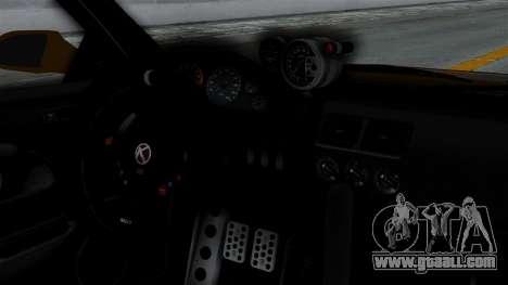 GTA 5 Karin Sultan RS Drift Big Spoiler PJ for GTA San Andreas back view