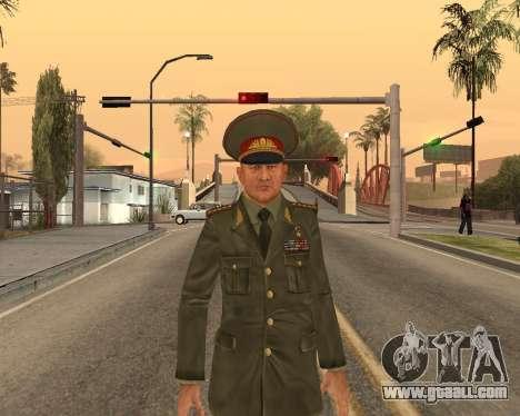 Russian army Skin Pack for GTA San Andreas ninth screenshot