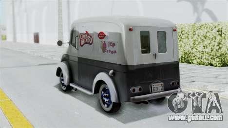 Divco 206 Milk Truck 1949-1955 Mafia 2 for GTA San Andreas left view