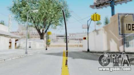 Samurai Sword v1 for GTA San Andreas second screenshot