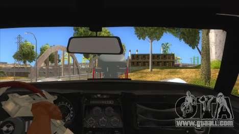 1968 Chevrolet Corvette Stingray Monster Truck for GTA San Andreas inner view