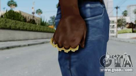 The Vagos Knuckle Dusters from Ill GG Part 2 for GTA San Andreas third screenshot
