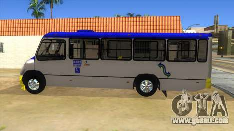 CAMION R622 for GTA San Andreas back left view
