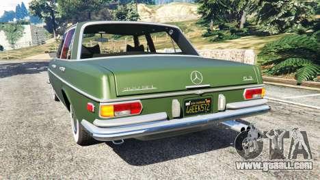 Mercedes-Benz 300SEL 6.3 1972 for GTA 5