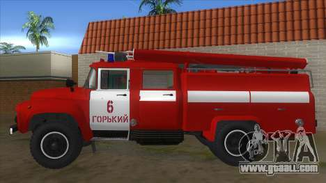 ZIL 130 AC-40 for GTA San Andreas left view