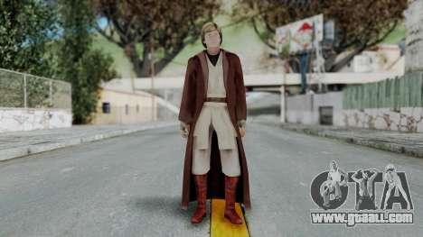 SWTFU - Luke Skywalker Spirit Apprentice Outfit for GTA San Andreas second screenshot