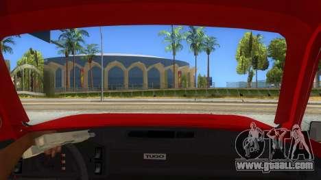 Zastava Poly 1.1 for GTA San Andreas inner view