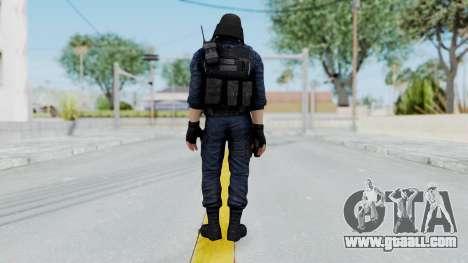 GIGN 1 Masked from CSO2 for GTA San Andreas third screenshot