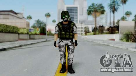 Shephard from Half-Life Opposing Force for GTA San Andreas second screenshot