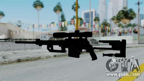 M2000 CheyTac Intervention without Stands for GTA San Andreas third screenshot