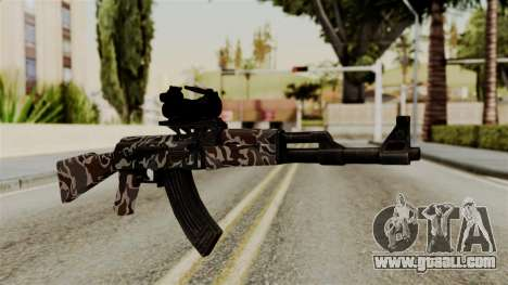 AK-47 F.C. Camo for GTA San Andreas