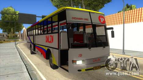 Dalin Ordinary for GTA San Andreas inner view