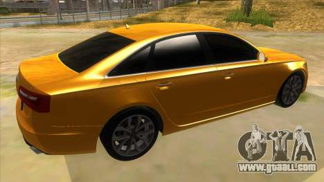 Audi A6 2012 for GTA San Andreas right view