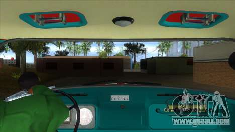 ZIL 130 AC-40 for GTA San Andreas inner view