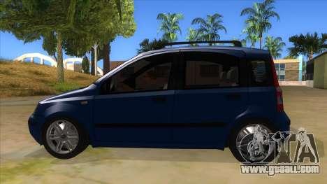 Fiat Panda V3 for GTA San Andreas left view