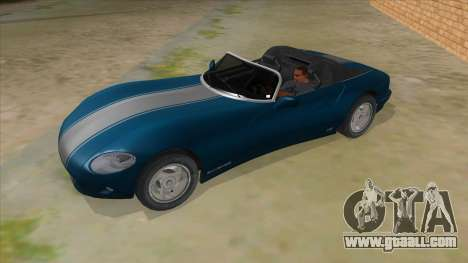 HD Banshee update for GTA San Andreas side view