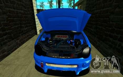 Subaru Impreza WRX STi Wagon 2003 for GTA San Andreas back view