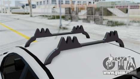 Hyundai Accent Essential Garage for GTA San Andreas back view