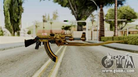Dragon AK-47 for GTA San Andreas