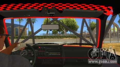 Volkswagen Golf MK2 RollGolf for GTA San Andreas inner view