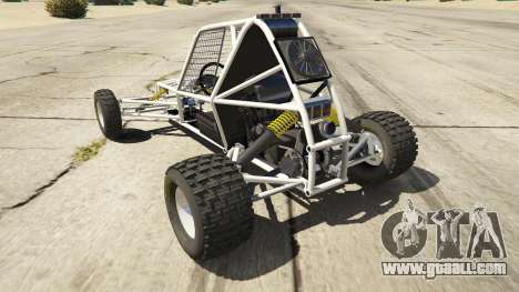 GTA 5 Kart Cross rear left side view