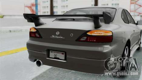 Nissan Silvia S15 Spec-R 2000 for GTA San Andreas upper view